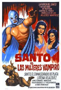 Santo vs. las mujeres vampiro (1962)