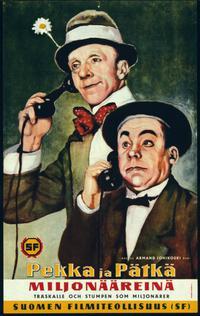 Pekka ja Pätkä miljonääreinä (1958)