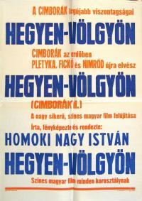 Cimborák - Hegyen-völgyön (1960)