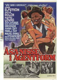 Åsa-Nisse i agentform (1967)