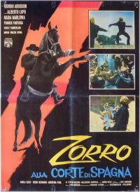 Zorro alla corte di Spagna (1962)