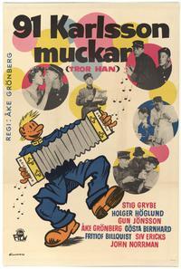 91:an Karlsson muckar (tror han) (1959)