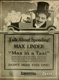 Max in a Taxi (1917)