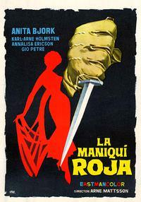 Mannekäng i rött (1958)