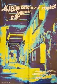 Mielőtt befejezi röptét a denevér (1989)