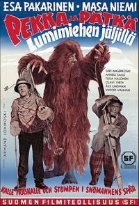 Pekka ja Pätkä lumimiehen jäljillä (1954)