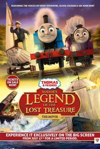Thomas & Friends: Sodor's Legend of the Lost Treasure (2015)