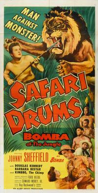 Safari Drums (1953)