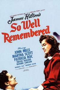 So Well Remembered (1947)