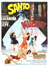 Santo en el hotel de la muerte (1963)