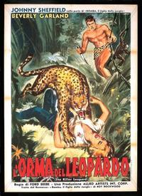 Killer Leopard (1954)