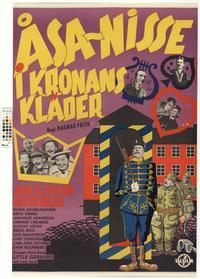 Åsa-Nisse i kronans kläder (1958)