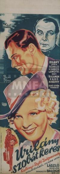 Úrilány szobát keres (1937)