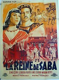 La regina di Saba (1952)