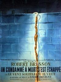 Un condamné à mort s'est échappé ou Le vent souffle où il veut (1956)