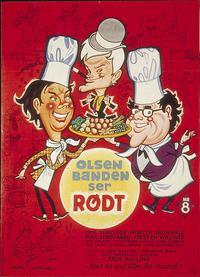Olsen-banden ser Rodt (1976)