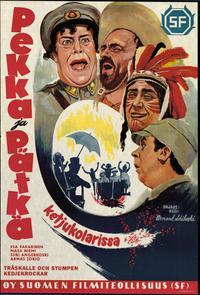 Pekka ja Pätkä ketjukolarissa (1957)