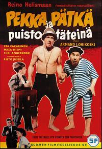 Pekka ja Pätkä puistotäteinä (1955)