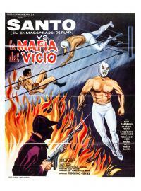 Santo contra la mafia del vicio (1971)
