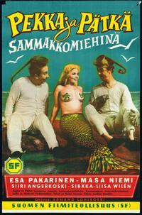 Pekka ja Pätkä sammakkomiehinä (1957)