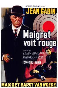 Maigret voit rouge (1963)