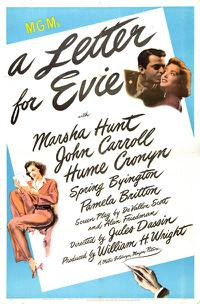 A Letter for Evie (1946)