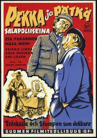 Pekka ja Pätkä salapoliiseina (1957)