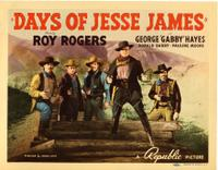 Days of Jesse James (1939)