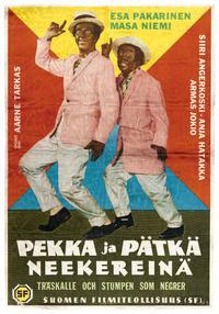 Pekka ja Pätkä neekereinä (1960)