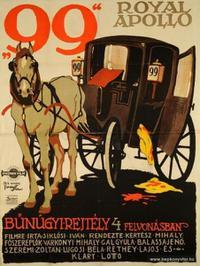 A 99-es számú bérkocsi (1918)