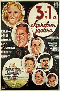 3:1 a szerelem javára (1937)