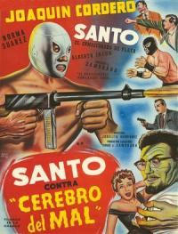 Santo contra cerebro del mal (1961)