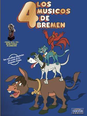 Zvířátka a lupiči / Los 4 músicos de Bremen (1989)
